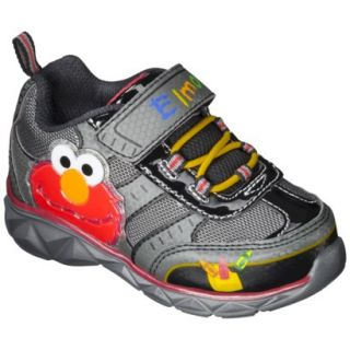 Toddler Boys Sesame Street Elmo Sneakers   Black 6