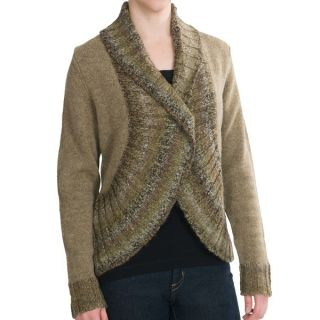 Woolrich Kendal Creek Bolero Sweater   Lambswool (For Women)   SHALE (XL )