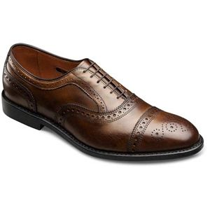 Allen Edmonds Mens Strand Bourbon Calf Shoes   6135