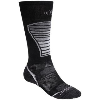 SmartWool PhD Ski Light Socks   Merino Wool (For Men and Women)   ARCTIC BLUE (M )
