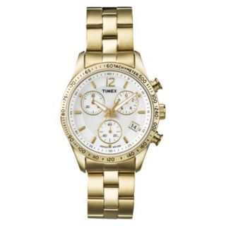Timex Womens Ameritus Chronograph Watch   Gold
