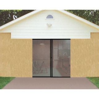 Trademark Global Single Garage Screen Door