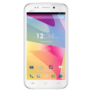 BLU Life One L120a Unlocked GSM Dual SIM Android Cell Phone   White