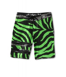 Hurley Kids Block Party Phantom Boardshort Boys Swimwear (Green)