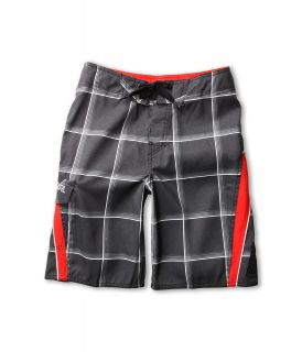 Rip Curl Kids Check Dosed Boardshort Boys Swimwear (Black)