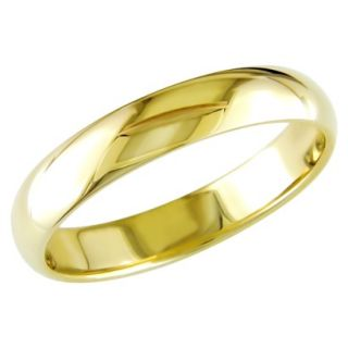 Mens 10K Yellow Gold Wedding Band   Size 12