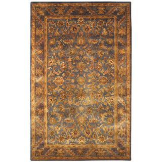 Safavieh Antiquities Majesty Blue/Gold Rug AT52C Rug Size 5 x 8