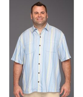 Tommy Bahama Big & Tall Big Tall Hombre Ole Camp Shirt Mens Short Sleeve Button Up (White)