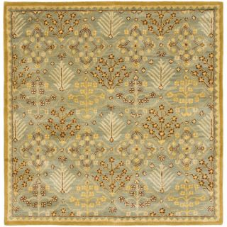 Safavieh Antiquities Light Blue / Gold AT613A Rug Size Square 8