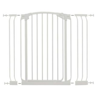 Dreambaby Chelsea Tall Swing Close Gate Combo   White