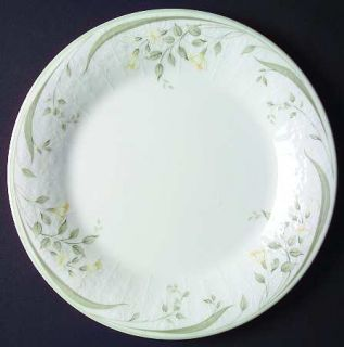 Royal Albert Hazy Dawn Salad Plate, Fine China Dinnerware   Raised Floral Edge,