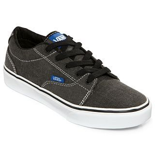 Vans Kress Boys Skate Shoes, Blue/Grey, Boys