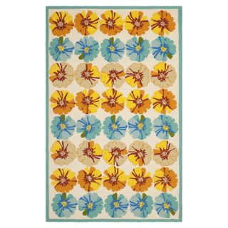 Safavieh Four Seasons Ivory / Blue Rug FRS469A Rug Size 8 x 10