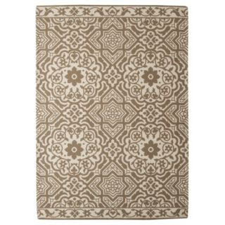 Threshold Indoor/Outdoor Area Rug   Tan (5x7)