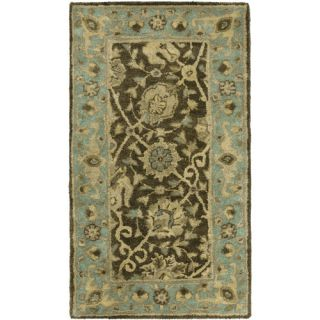 Safavieh Antiquities Brown/Green Rug AT21G Rug Size Runner 23 x 4