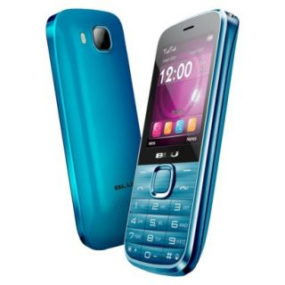 BLU Diva T272T Unlocked GSM Dual SIM Cell Phone   Blue