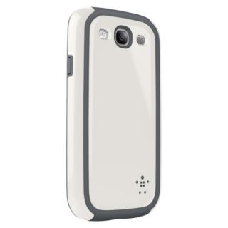 Belkin Grip Max Cell Phone Case for Samsung Galaxy SIII   White (F8M408ttC03)