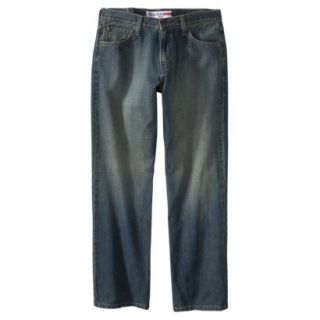 Denizen Mens Straight Fit Jeans 38x34