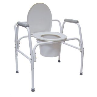 Briggs Healthcare DMI® Extra Wide Heavy Duty Steel Commode 520 1207 1900