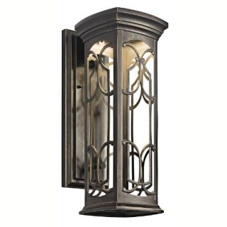 Kichler 49227OZLED LED Outdoor Lighting, Original 148 Wall Lantern Fixture Olde Bronze