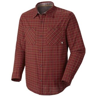 Mountain Hardwear McHenry Plaid Shirt   Long Sleeve (For Men)   TITANIUM (XL )