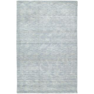 Gabbeh Hand tufted Light Blue Rug (3 X 5)