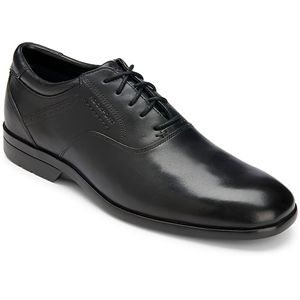 Rockport Mens Business Lite Plain Toe Black Shoes   K72385
