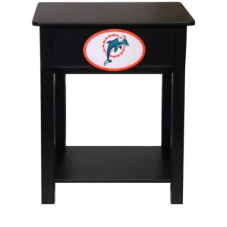 Fan Creations NFL End Table N0533  NFL Team Miami Dolphins