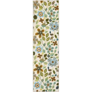 Safavieh Four Seasons Ivory / Multi Rug FRS429A Rug Size Runner 23 x 8