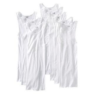 Fruit of the Loom Mens A Shirt 8Pack   White M