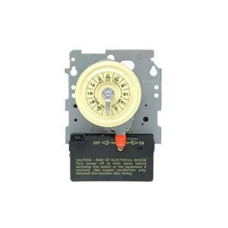 Intermatic T101M Timer, 120V SPST 24Hour Mechanical Time Switch Mechanism Only