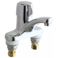 Chicago Faucets 3300 ABCP Universal Deck Mounted Single Handle Metering Faucet
