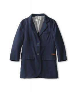 Ben Sherman Kids Gaven Blazer Boys Jacket (Gray)