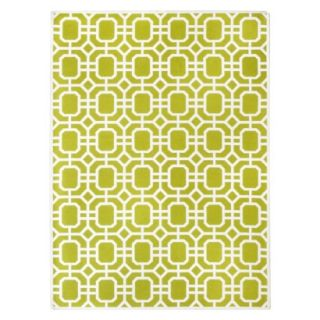 Threshold Indoor/Outdoor Area Rug   Lime Green (5x7)