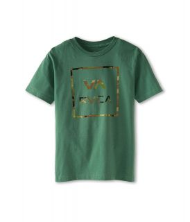 RVCA Kids Vamo Tee Boys T Shirt (Green)