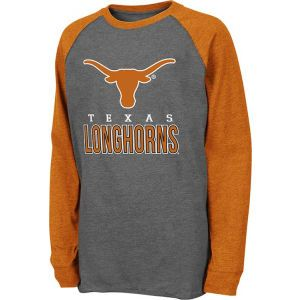 Texas Longhorns Colosseum NCAA Youth Sweep Long Sleeve T Shirt