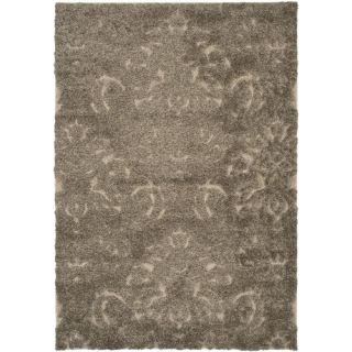 Safavieh Florida Shag Light Smoke/Beige Rug SG460 7913 Rug Size 4 x 6