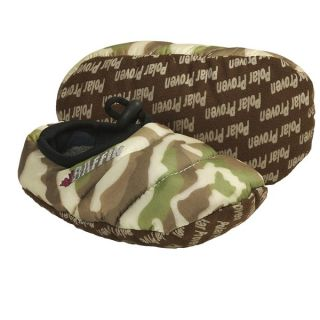 Baffin Cush Slippers   Insulated (For Kids and Youth)   BROWN CAMO (YM )