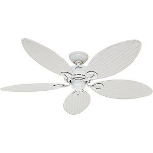 Hunter HUF 54097 Bayview Damp/Outdoor rated Ceiling fan