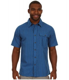 Outdoor Research Overtone S/S Shirt Mens Short Sleeve Button Up (Navy)
