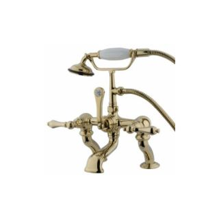 Elements of Design DT4092AL St. Louis Clawfoot Tub Filler With Hand Shower