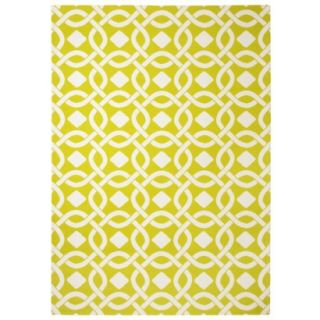 Threshold Indoor/Outdoor Area Rug   Lemon Lime (7x10)