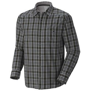 Mountain Hardwear Cardwell Plaid Shirt   Long Sleeve (For Men)   TITANIUM (M )