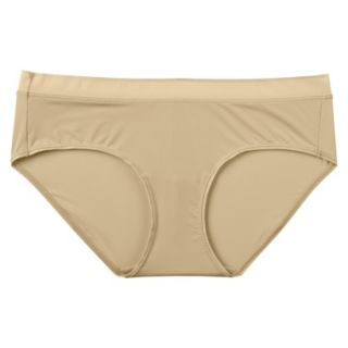 JKY By Jockey Womens Nylon Stretch Hipster   Toasted Beige 8