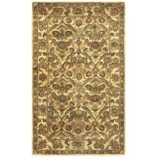 Safavieh Antiquities Garden Panel Gold Rug AT51C Rug Size 3 x 5