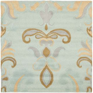 Safavieh Soho Light Blue/Multi Rug SOH215A Rug Size Square 6