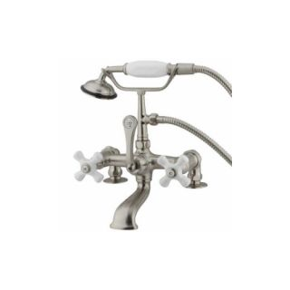 Elements of Design DT2038PX St. Louis Clawfoot Tub Filler With Hand Shower