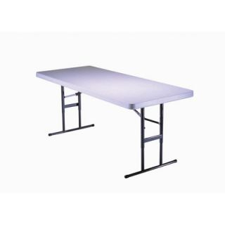 Lifetime 6 Commercial Grade Adjustable Table in Almond 2920 Quantity 1