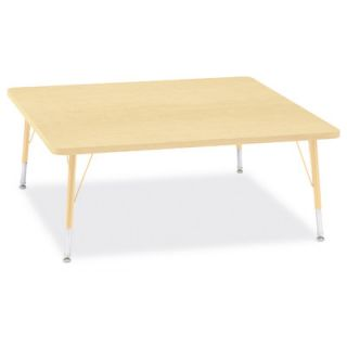 Jonti Craft Berries Square Activity Table (48 x 48) 6418JC251 Size 15 H x