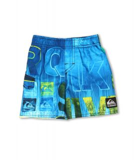 Quiksilver Kids Good Day Volley Short Boys Swimwear (Blue)